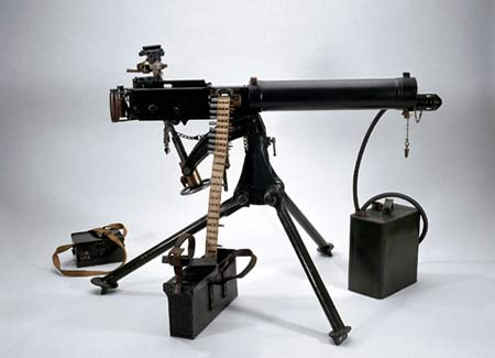 Machine Gun World War 1 Vickers machine gun